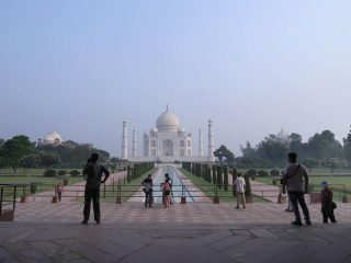 India's iconic Taj Mahal reopens after six months